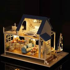 1pcs diy house set size 30 23 22cm 11 81 9 06 8 66 in