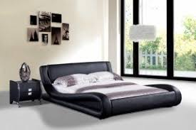 Modern bed Designer Dona Faux Leather Modern Bed Foter Modern Beds Cheap Ideas On Foter