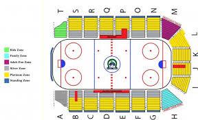 Credit Union Iplex Seating Map Swift Current Broncos