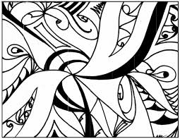 Small Picture Abstract art coloring pages
