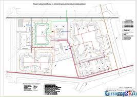 Инженерные сети микрорайона курсовая работа с чертежами Проект по дисциплине Строительство В представленной курсовой работе