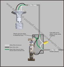 electrical wiring diagram light switch wiring diagram wiring diagrams for switch to control a wall receptacle do it source