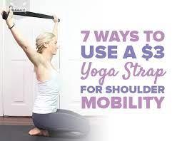 3 yoga strap for shoulder mobility