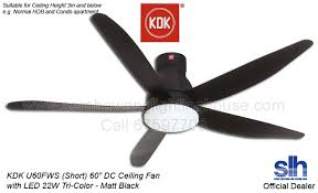 photos of kdk ceiling fan with led light