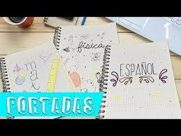 Portadas Faciles Y Bonitas Para Tus Cuadernos Betania Bueno
