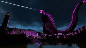 Godzilla Light A Shaft Of Light Godzilla