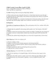 Child Custody Letter Sample 037 Example Of Custody Agreement Letter Best Letters In