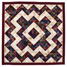 7 best Perkiomen valley images on Pinterest | Quilt block patterns ... & Code: Author: Cyndi Hershey Patch light and dark scraps into this striking,  high-contrast quilt-a historical design originated by Pennsylvania's German  ... Adamdwight.com