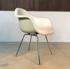 dax fiberglass chair by charles ray eames fehlbaum for herman miller 1950s