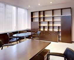 law office interior design ideas.  law for large empty room wall book shelf and small conference table law office   interior design ideas