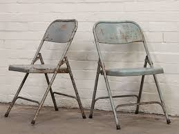 vintage metal folding chairs. Delighful Chairs Vintage Metal Folding Chairs  Blue Globally Sourced Vintage Furniture  All Original Authentic Retro Interior Style To E
