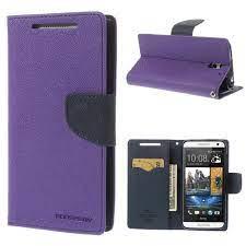 HTC Desire 610 Purple Fancy Wallet Case ...