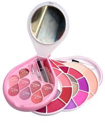 ads makeup kit contains eyeshadhow pact powder blusher and lip color ads makeup kit contains eyeshadhow pact powder blusher and lip color
