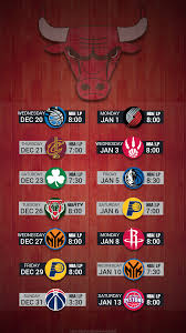 chicago bulls 2017 nba basketball december hardwood schedule wallpaper for iphone andriod and windows mobile phones