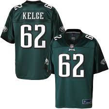 Nfl Men's Jersey Kelce Team Pro Philadelphia Jason Color Eagles Line