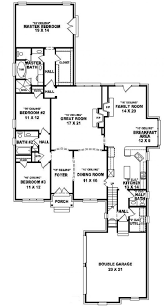 654015 one and a half story 3 bedroom 2 5 bath french style house endear home house plan plans bungalows y