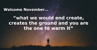 Welcome November Quotes And Sayings