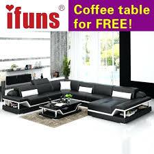 u shaped leather sofa modern design u shaped high quality leather sofa set sectional floor real