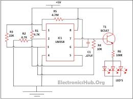 17 best ideas about electrical circuit diagram led lamp dimmer project circuit diagram and working