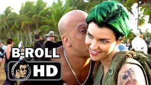 XXX RETURN OF XANDER CAGE B Roll Footage 2017 Vin Diesel.