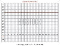 Basal Chart Celsius Vector Basal Chart Vector Photo Free Trial Bigstock
