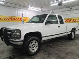 white chevy trucks 1995. Contemporary 1995 Used 1998 Chevrolet Silverado 1500 4x4 Extended Cab Intended White Chevy Trucks 1995 C
