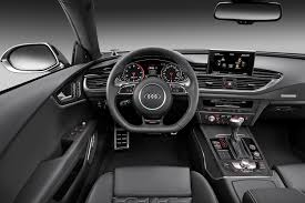 audi 2014 interior. Delighful Audi 2014 Audi RS7 Sportback Black Leather Interior Intended
