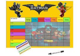 Lego Batman Reward Chart Lego Batman Re Usable Reward Chart Including Free Star