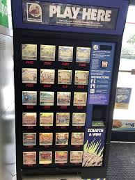 Florida Lotto Vending Machines Magnificent Florida Lottery ScratchOff Ticket Machine Yelp