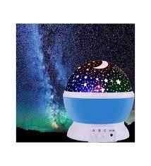 Star Projeksiyon Led Gece Lambası Usb Tavan Yıldız Yansıtma Işığı