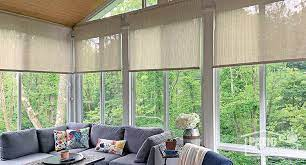 sunroom furniture shade pictures