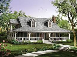 homes with wrap around porches country style new farmhouse with wrap around porch house plans