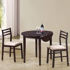 3 Piece Dining Set Coaster Furniture 130005 3 Pieces Dining Set In Cappuccino With