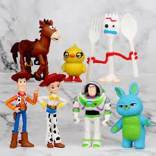 Christmas <b>Toy Story</b> 4 <b>Disney 7Pcs Set</b> Lightyear Buzz Woody ...