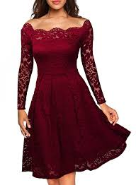 Miss May Womens Vintage Floral Lace Long Lace Party