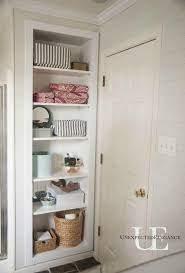 Diy Built In Shelving For My Bathroom Bathroom Shelves For Towels Upstairs Bathrooms Diy Bathroom