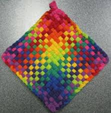 Potholder Loom Patterns Delectable 48 Best Potholder Loom Patterns Images On Pinterest Weaving