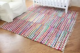 colorful rugs. Small Colorful Rugs Sewn Together For One Large Rug In Nursery