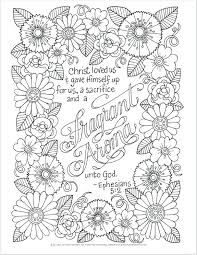 Printable Bible Verse Coloring Pages For Adults Bible Verse