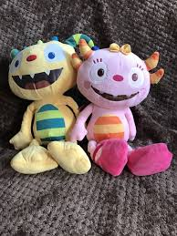 henry huggle monster and talking summer hugglemonster soft toy plush bundle 1 of 3 see more