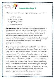 Different Types Of Expository Essays Text Structure Worksheets Grade Expository Identifying Pranaboard Co