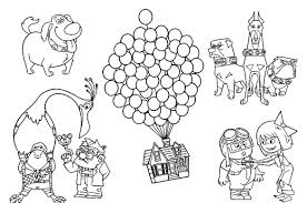 Small Picture Characters In Up Coloring Pages Cartoon Coloring pages of