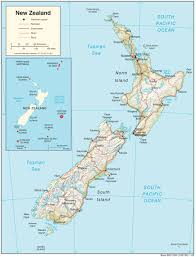 New Zealand Maps Perry Castañeda Map Collection Ut