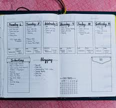 dl layouts daily weekly and monthly bullet journal layout examples