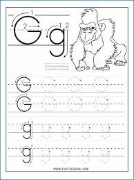 Preschool Letter G Toddler Alphabet Worksheets Tracing E Works – pular