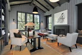 hom office. Dramatic Masculine Home Office Design Hom
