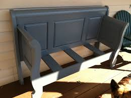 Old sleigh bed turned into a bench | DIY in 2019 | Pinterest ...