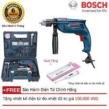 Mua Máy khoan động lực Bosch GSB 10RE - SET 100 + + Quà tặng nhiệt kế điện  tử giá rẻ 1.690.000₫