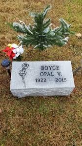 Opal Virginia Summers Boyce (1922-2015) - Find A Grave Memorial