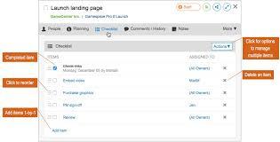 check list example checklists liquidplanner